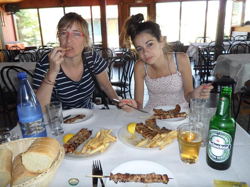 Restaurante en Grecia.