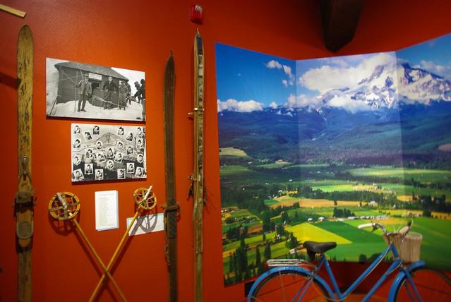 マウントフッド登山の歴史展示