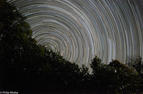 Star Trails - Clavelaires