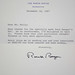 Letter from President Ronald Reagan