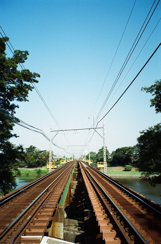 track of a train