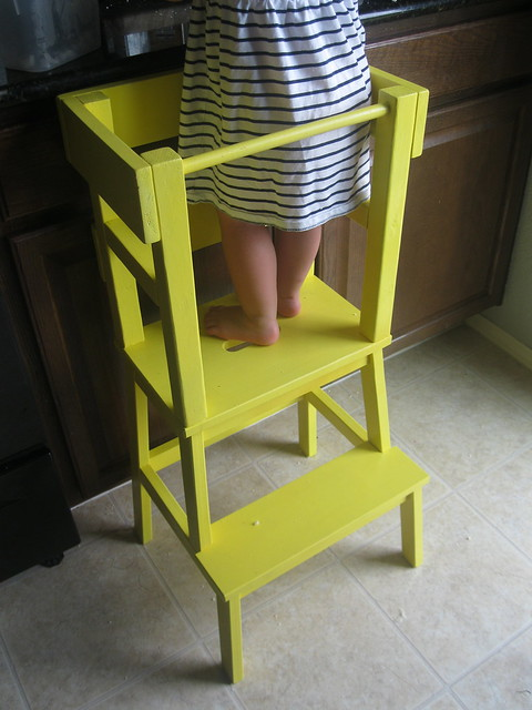 Another ikea hack diy learning tower what the vita - Tabouret enfant ikea ...