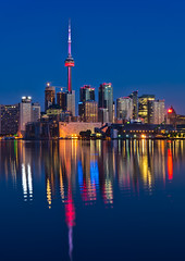 Red CN Tower