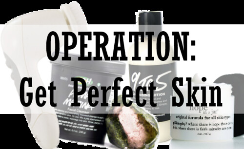 Operation: Get Perfect Skin