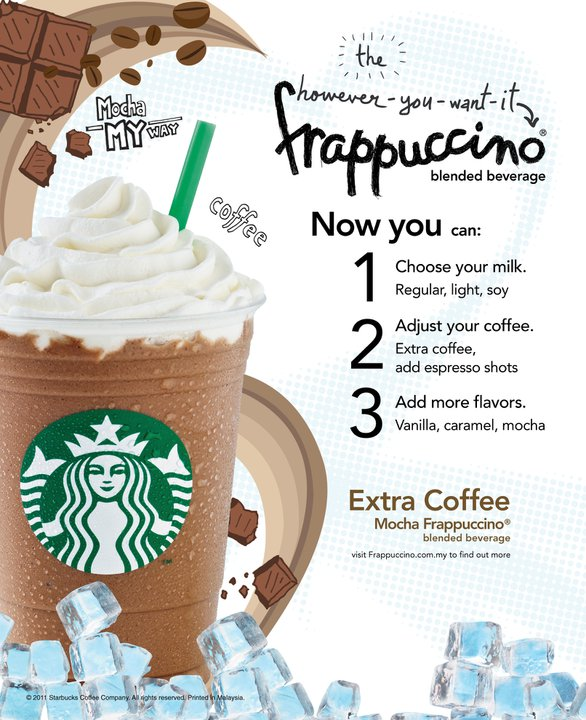 come ordinare da starbucks-frappuccino