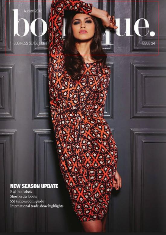Boutique Magazine, August 2013