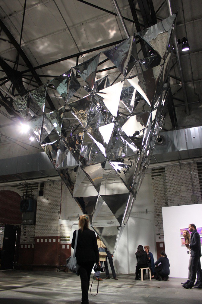 Tomas Saraceno at Esther Schipper