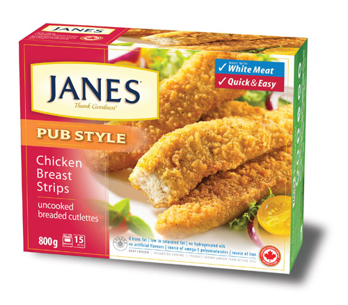 Janes Pub Style Chicken Breast Strips