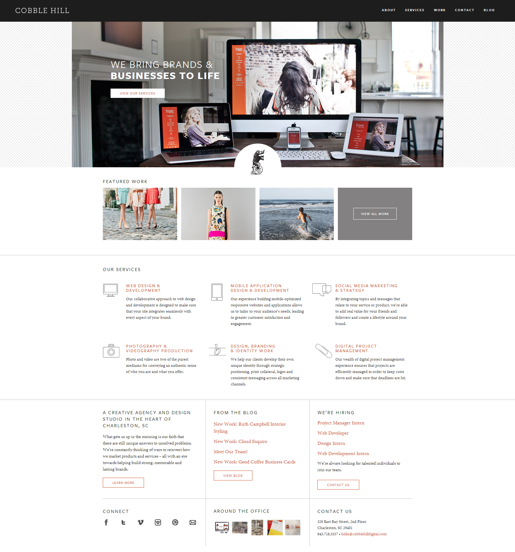 Cobble Hill - Clean Website for Your Inspiration