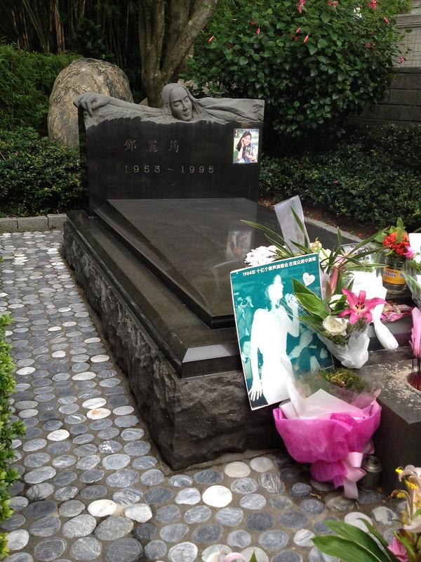 テレサテンのお墓 by haruhiko_iyota