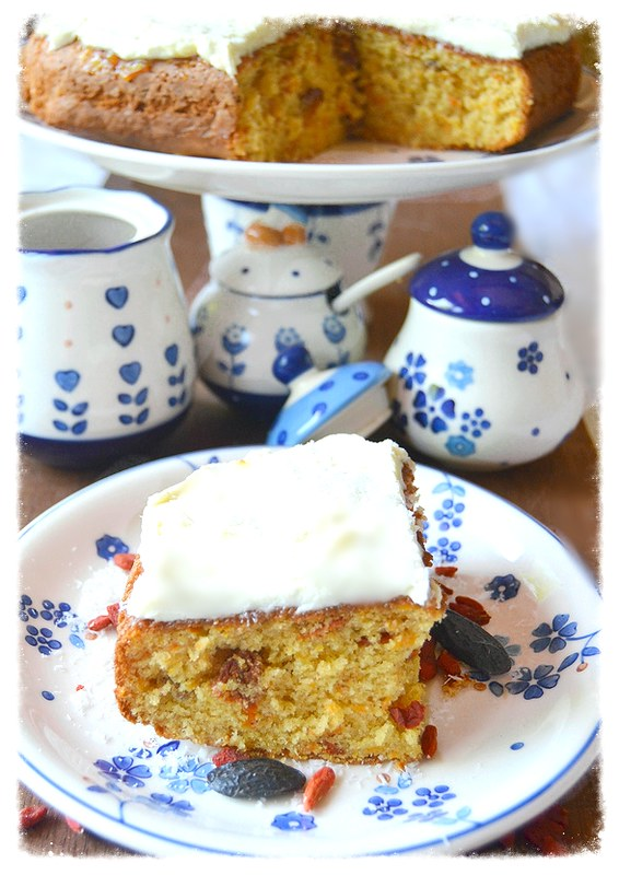 Spiced Carrot Coconut Orange Cake Recipes — Dishmaps