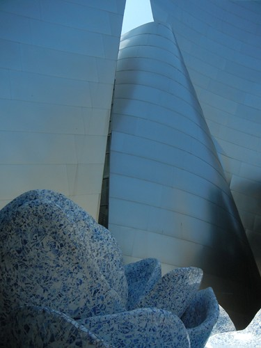 DSCN8534 _ Exterior Detail, Walt Disney Concert Hall, Los Angeles, July 2013