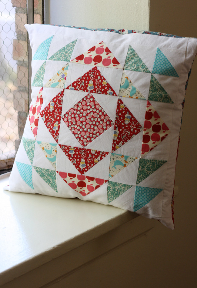 Michael Ann Made || Quilting Happiness Pillow