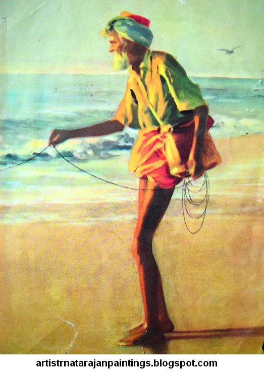 oviyar r natarajan paintings artist r natarajan paintings one of
