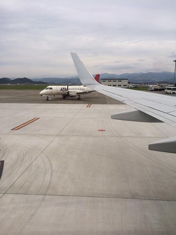 高知空港に到着 by haruhiko_iyota