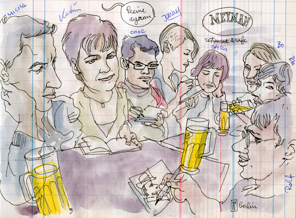 urban sketchers berlin