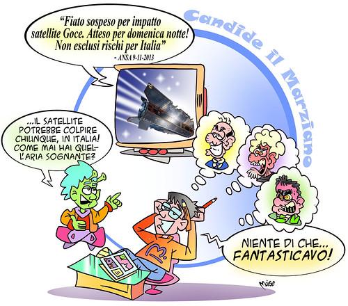 Candide il Marziano ed il Satellite (De)Cadente by Moise-Creativo Galattico