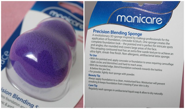 Manicare beauty blender sponge purple blog blogger australian beauty review ausbeautyreview applicator apply foundation cream product cosmetics makeup priceline affordable blend