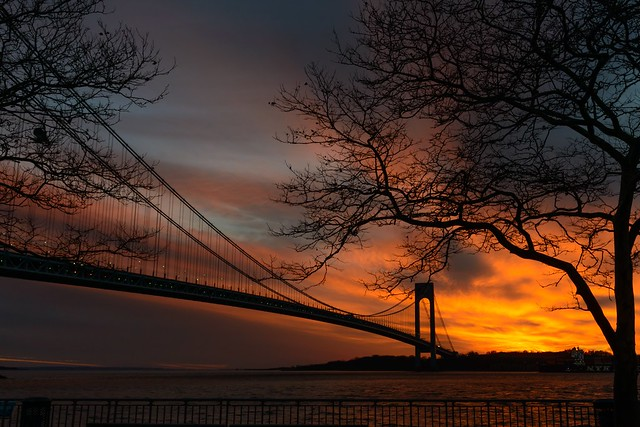 11-23-13 Verrazano Sunset 2