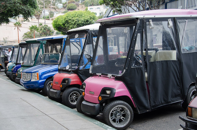 Golf Carts on Catalina Island