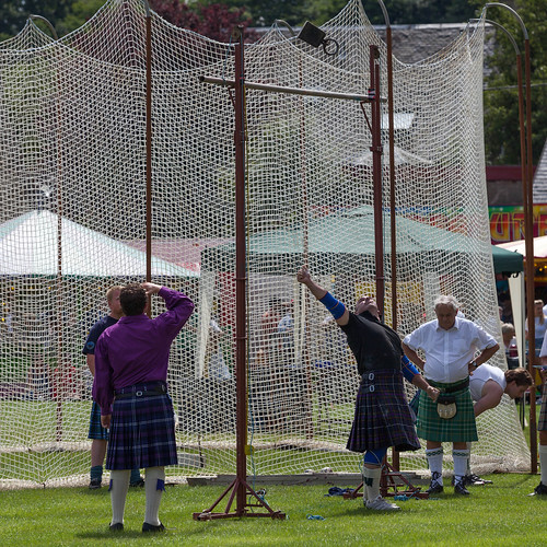 Highland-Games; copyright 2013: Georg Berg