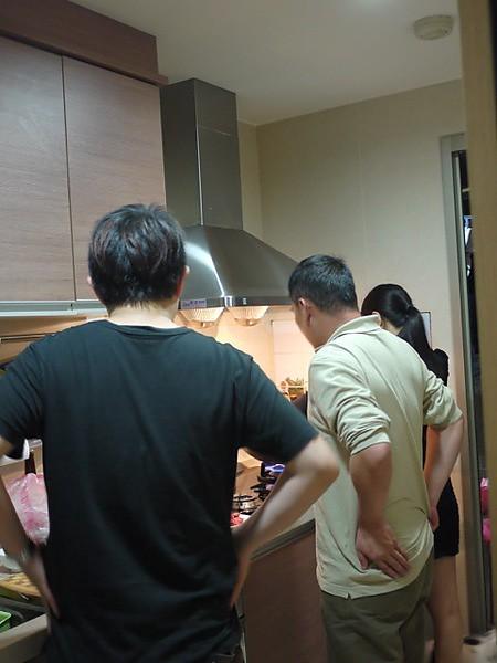 照片日記|四個忙碌主廚,四人的晚餐