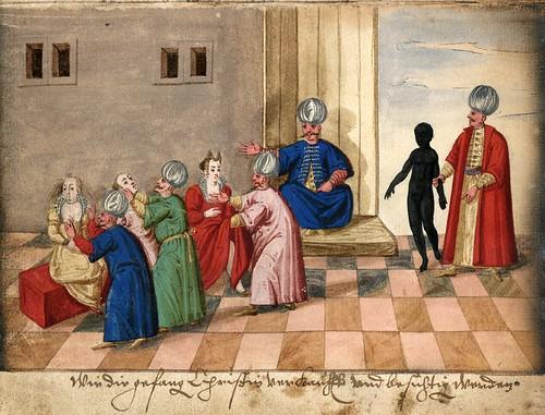 012-Mercado de esclavos-Türkisches Manierenbuch-1595- ORKA Open Repository Kassel