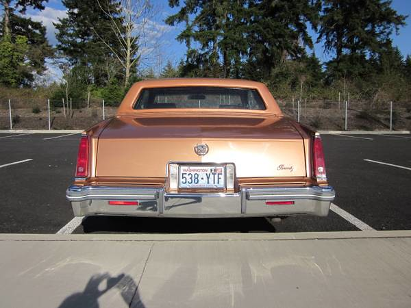 1979 Cadillac Eldorado Biarritz   Today is Western Saddle Fi