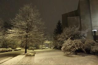 Synagogue Snow