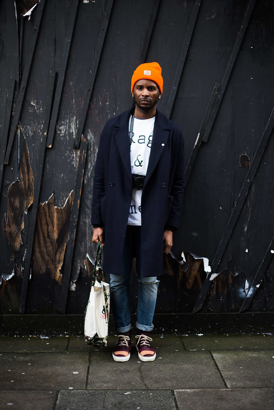 Street Style - Terence Sambo, London Collections: Men