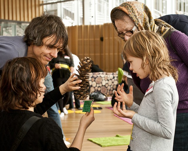 A workshop at Illuminated. Photo by Michael Ratliff.