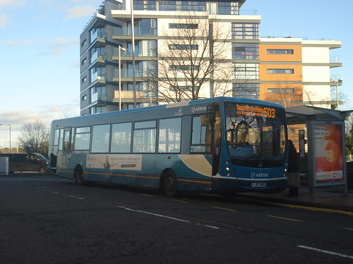 Arriva Shires 3404 on Route 503, Watford High Street