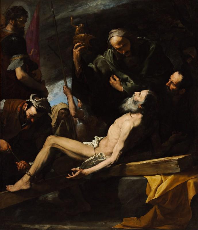 Josep de Ribera - Martyrdom of Saint Andrew (c.1628)