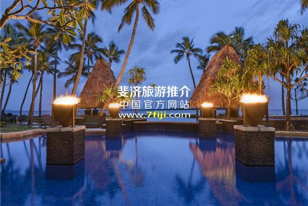 斐济威斯汀水疗度假酒店游泳池