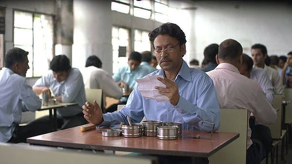 Irrfan Khan gets involved in a surprising correspondence in THE LUNCHBOX.