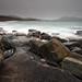 Traigh Nisabost - Moody Morning by David Kendal