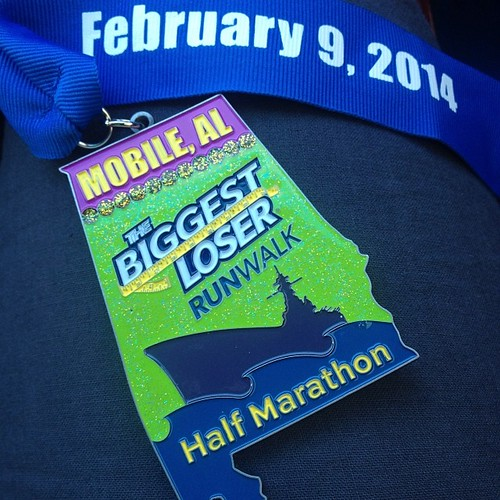 Today's medal special! #blrwmobile #runchat #running