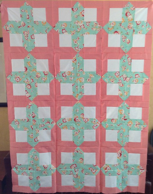 Mystery Quilt Assembled