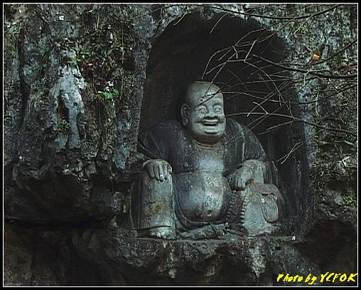 杭州 飛來峰景區 - 014 (飛來峰石雕佛像)