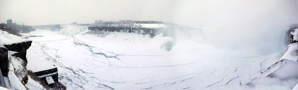 Niagara River and Gorge: all ice