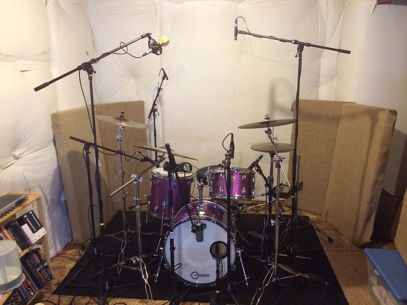 Home studio expansion drum tracking in tha house w for Zenhiser classic house drum sounds