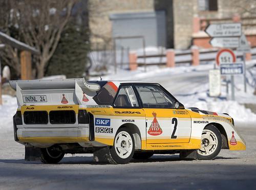 Audi Sport Quattro S1 de Stig Blomqvist