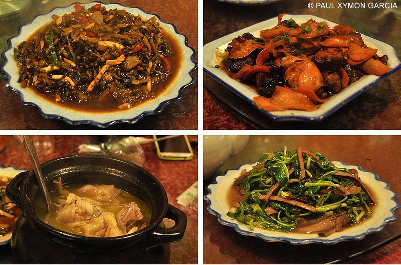 Food in Hongcun, Anhui, China
