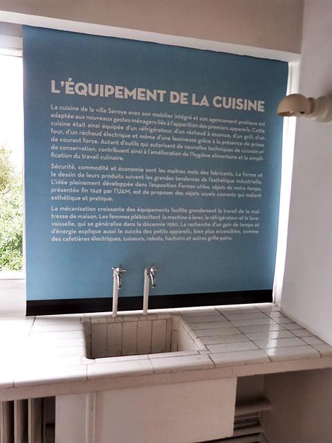 l'équipement de la cuisine Savoye