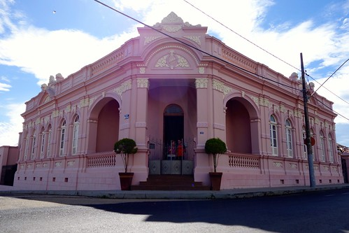Historic house in Patrocinio. Brasil