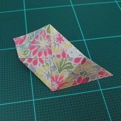 การพับกระดาษเป็นรูปเรขาคณิตทรงลูกบาศก์แบบแยกชิ้นประกอบ (Modular Origami Cube) 017