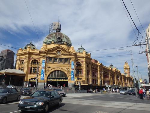 Flinders Station, Melbourne, Australia