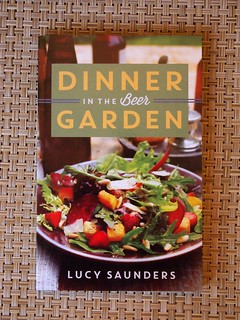 """Dinner in the Beer Garden"" (front cover)"