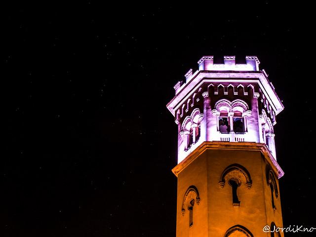 Detalle de la Torre de la Miranda