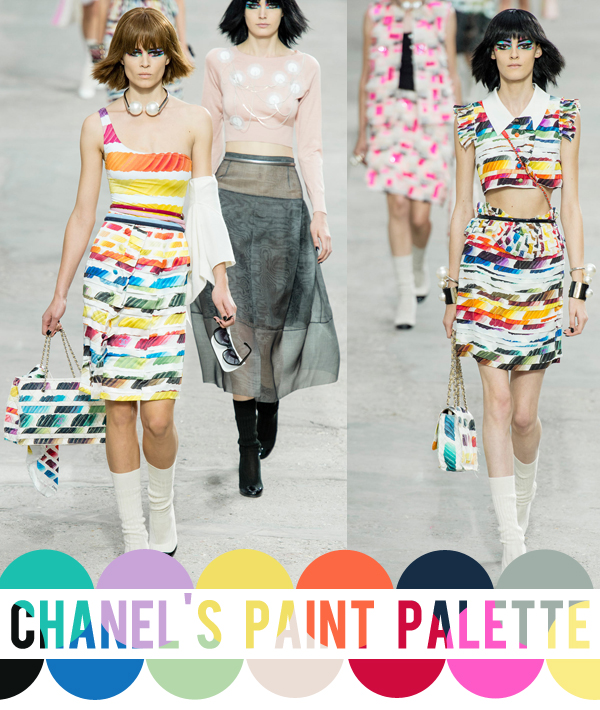 colour crush : Chanel, spring 2014 rtw | Emma Lamb